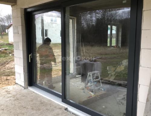 Подъемно-сдвижная дверь KBE Premidoor
