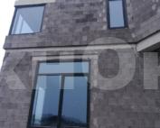 Остекление загородного дома окнами из профиля Veka Spektral Grafit